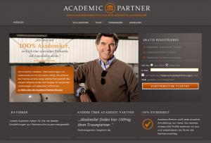 Partnersuche bei academic-partner.de