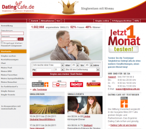 Online Dating bei DatingCafe.de
