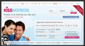 Online Dating Testbericht KissNoFrog.de