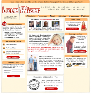 Online Dating Testbericht Lovealizer.de