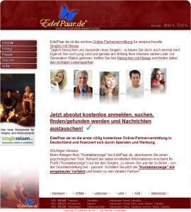 Partnersuche bei edelpaar.de