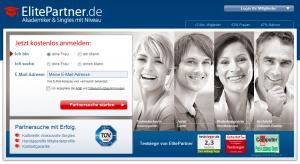 Partnersuche bei elite-partner.de