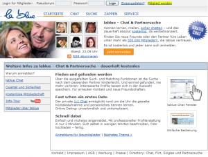 Partnersuche bei lablue.de