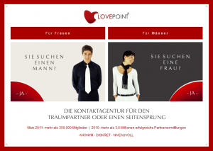 Partnersuche lovepoint