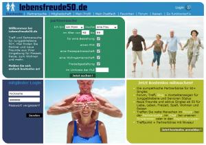 Senioren Dating Testbericht Lebensfreude50.de